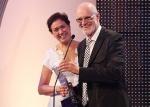 Marcos Caruso reçoit le prix du meilleur acteur décerné par la Fondation Cesgranio