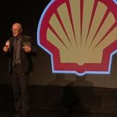 Marcos Caruso reçoit le prix du meilleur acteur décerné par la Fondation Shell